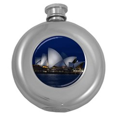 Landmark Sydney Opera House Round Hip Flask (5 Oz) by Nexatart