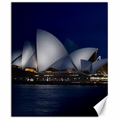 Landmark Sydney Opera House Canvas 8  X 10  by Nexatart