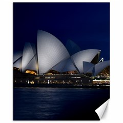 Landmark Sydney Opera House Canvas 16  X 20   by Nexatart