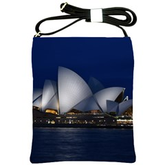 Landmark Sydney Opera House Shoulder Sling Bags by Nexatart