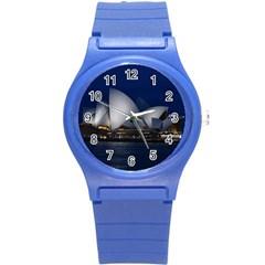 Landmark Sydney Opera House Round Plastic Sport Watch (s) by Nexatart