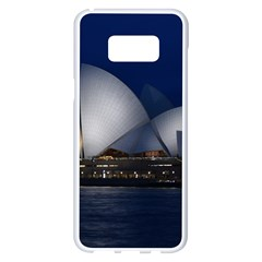 Landmark Sydney Opera House Samsung Galaxy S8 Plus White Seamless Case