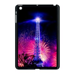 Paris France Eiffel Tower Landmark Apple Ipad Mini Case (black) by Nexatart