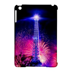 Paris France Eiffel Tower Landmark Apple Ipad Mini Hardshell Case (compatible With Smart Cover) by Nexatart