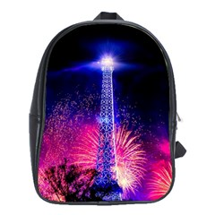 Paris France Eiffel Tower Landmark School Bag (xl)