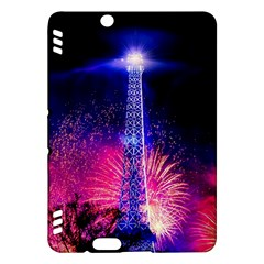 Paris France Eiffel Tower Landmark Kindle Fire Hdx Hardshell Case by Nexatart