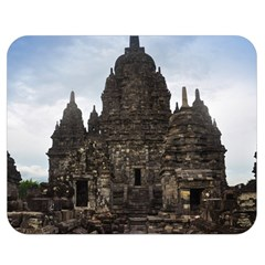 Prambanan Temple Indonesia Jogjakarta Double Sided Flano Blanket (medium)  by Nexatart