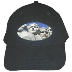 Mount Rushmore Monument Landmark Black Cap