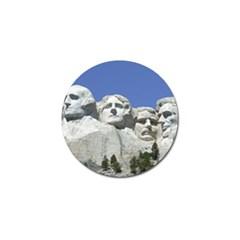 Mount Rushmore Monument Landmark Golf Ball Marker
