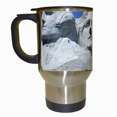 Mount Rushmore Monument Landmark Travel Mugs (white)