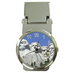 Mount Rushmore Monument Landmark Money Clip Watches by Nexatart