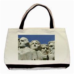 Mount Rushmore Monument Landmark Basic Tote Bag