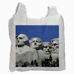 Mount Rushmore Monument Landmark Recycle Bag (two Side)