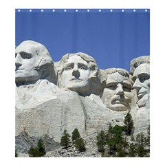 Mount Rushmore Monument Landmark Shower Curtain 66  X 72  (large)