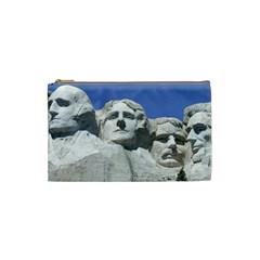Mount Rushmore Monument Landmark Cosmetic Bag (small)