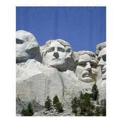 Mount Rushmore Monument Landmark Shower Curtain 60  X 72  (medium)  by Nexatart