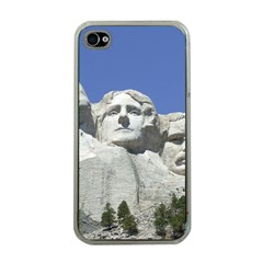 Mount Rushmore Monument Landmark Apple Iphone 4 Case (clear)