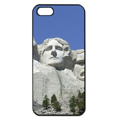 Mount Rushmore Monument Landmark Apple Iphone 5 Seamless Case (black)