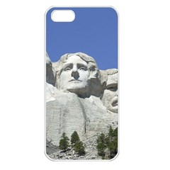 Mount Rushmore Monument Landmark Apple Iphone 5 Seamless Case (white)