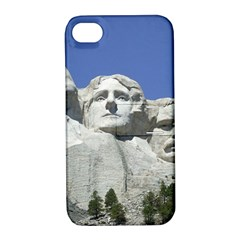 Mount Rushmore Monument Landmark Apple Iphone 4/4s Hardshell Case With Stand