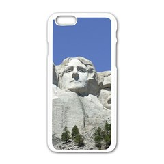 Mount Rushmore Monument Landmark Apple Iphone 6/6s White Enamel Case by Nexatart