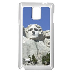 Mount Rushmore Monument Landmark Samsung Galaxy Note 4 Case (white)