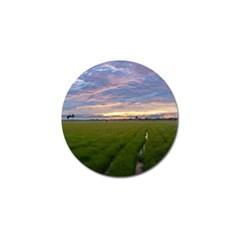 Landscape Sunset Sky Sun Alpha Golf Ball Marker