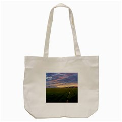 Landscape Sunset Sky Sun Alpha Tote Bag (cream)