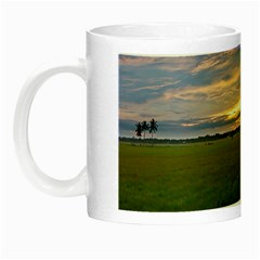 Landscape Sunset Sky Sun Alpha Night Luminous Mugs