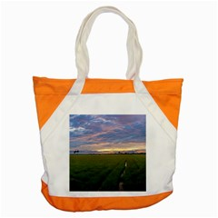 Landscape Sunset Sky Sun Alpha Accent Tote Bag by Nexatart