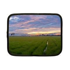 Landscape Sunset Sky Sun Alpha Netbook Case (small)