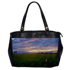 Landscape Sunset Sky Sun Alpha Office Handbags