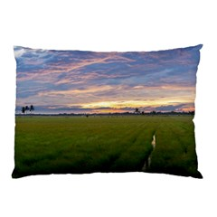 Landscape Sunset Sky Sun Alpha Pillow Case (two Sides)