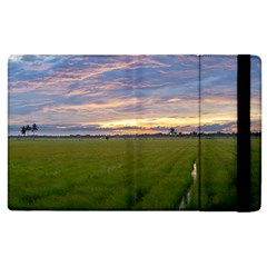 Landscape Sunset Sky Sun Alpha Apple Ipad 2 Flip Case by Nexatart
