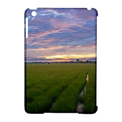 Landscape Sunset Sky Sun Alpha Apple Ipad Mini Hardshell Case (compatible With Smart Cover)