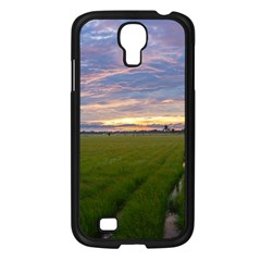 Landscape Sunset Sky Sun Alpha Samsung Galaxy S4 I9500/ I9505 Case (black)