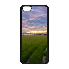 Landscape Sunset Sky Sun Alpha Apple Iphone 5c Seamless Case (black) by Nexatart