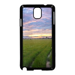 Landscape Sunset Sky Sun Alpha Samsung Galaxy Note 3 Neo Hardshell Case (black)
