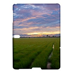Landscape Sunset Sky Sun Alpha Samsung Galaxy Tab S (10 5 ) Hardshell Case  by Nexatart