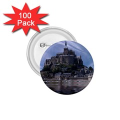 Mont Saint Michel France Normandy 1 75  Buttons (100 Pack)