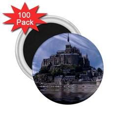 Mont Saint Michel France Normandy 2 25  Magnets (100 Pack)