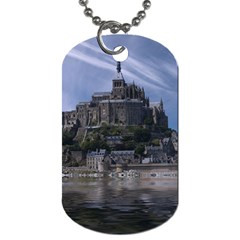 Mont Saint Michel France Normandy Dog Tag (one Side)