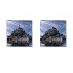 Mont Saint Michel France Normandy Cufflinks (square) by Nexatart
