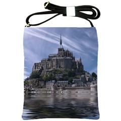 Mont Saint Michel France Normandy Shoulder Sling Bags
