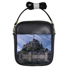 Mont Saint Michel France Normandy Girls Sling Bags
