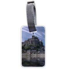 Mont Saint Michel France Normandy Luggage Tags (one Side)
