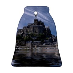 Mont Saint Michel France Normandy Bell Ornament (two Sides)