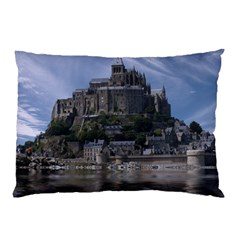 Mont Saint Michel France Normandy Pillow Case (two Sides) by Nexatart