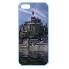 Mont Saint Michel France Normandy Apple Seamless Iphone 5 Case (color)