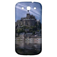 Mont Saint Michel France Normandy Samsung Galaxy S3 S Iii Classic Hardshell Back Case by Nexatart